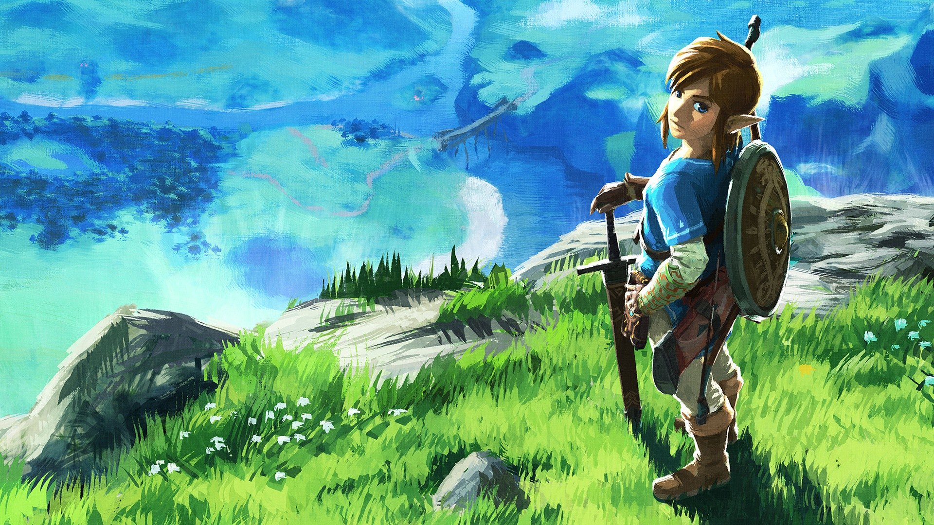 Zelda Breath Of The Wild Wallpaper High Resolution Desktop Quality